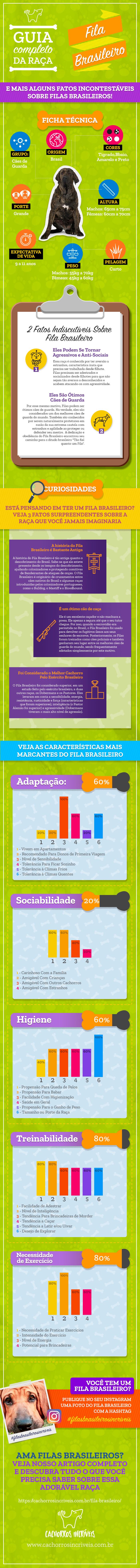 Infográfico Fila Brasileiro